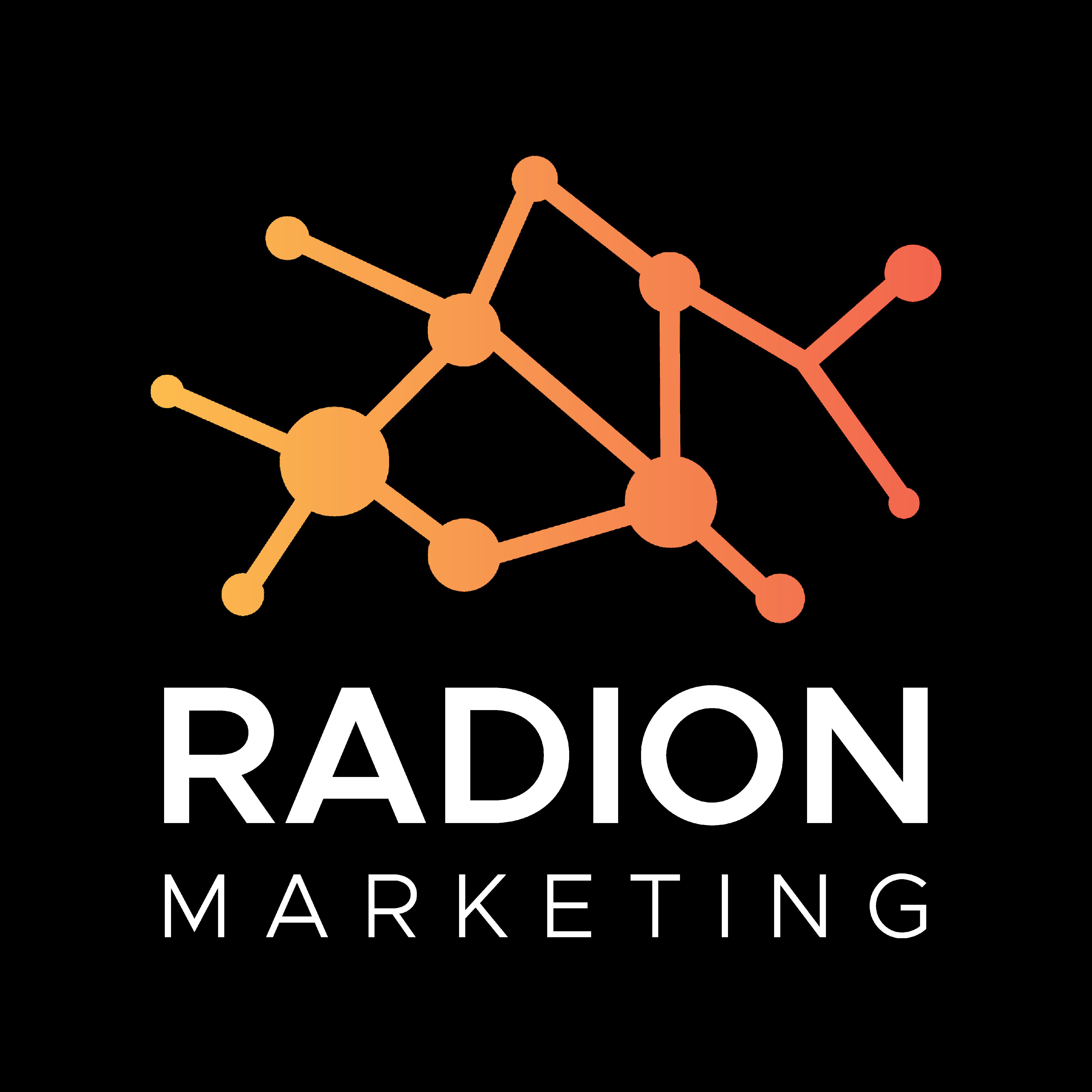 Radion Logo white n color